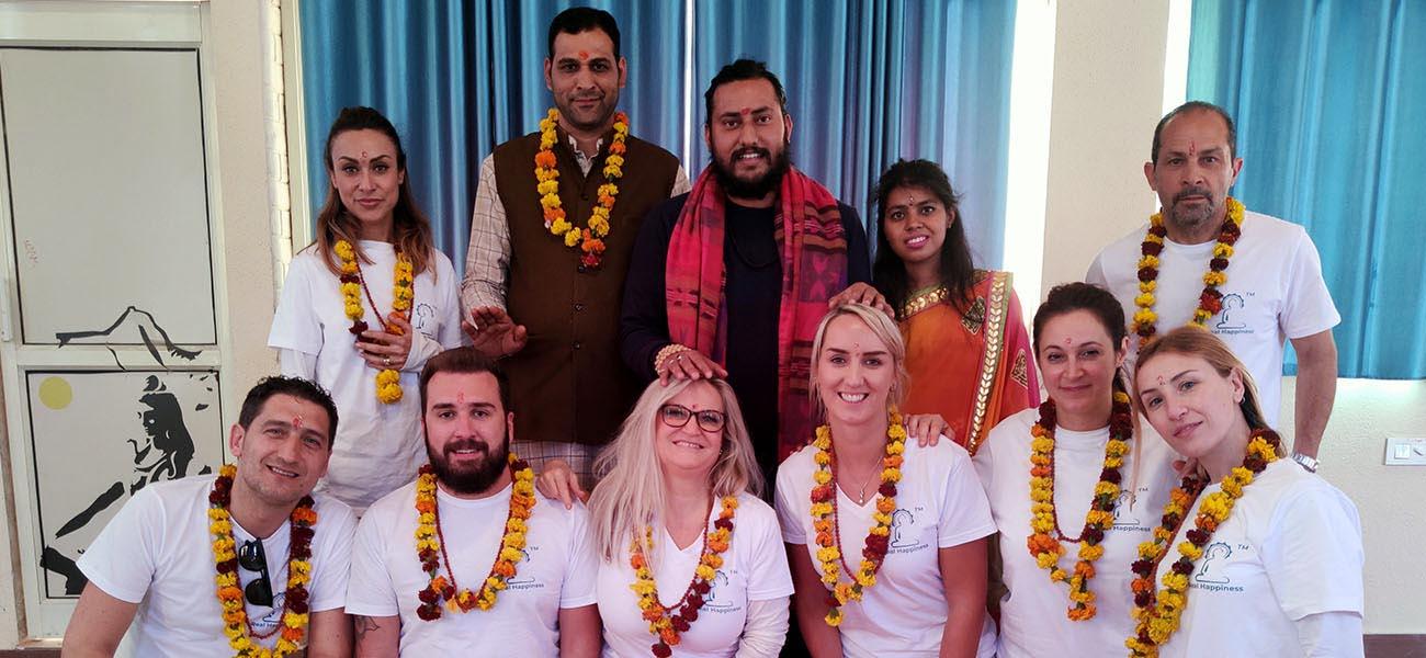 formazione degli insegnanti di meditazione in India